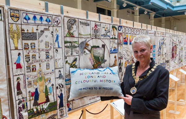 Launch Great Tapestry Of Scotland