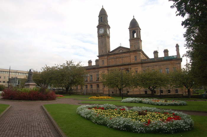 Town Hall from Dunn Square